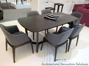 bàn ăn 6 ghế mặt gỗ