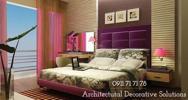 Nội thất phòng ngủ 25m2 theo hướng đa phong cách