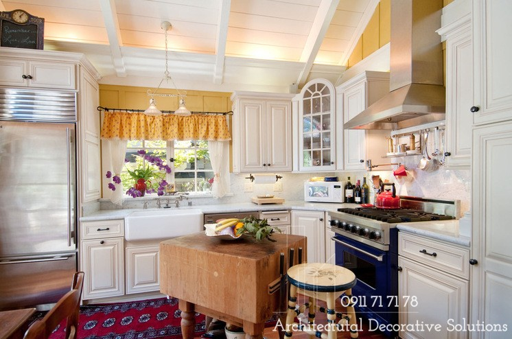 Trang trí phòng bếp theo phong cách vintage ấn tượng