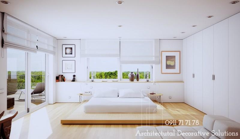 20 Mẫu Phòng Ngủ Với Giường Ngủ Thấp Độc Đáo