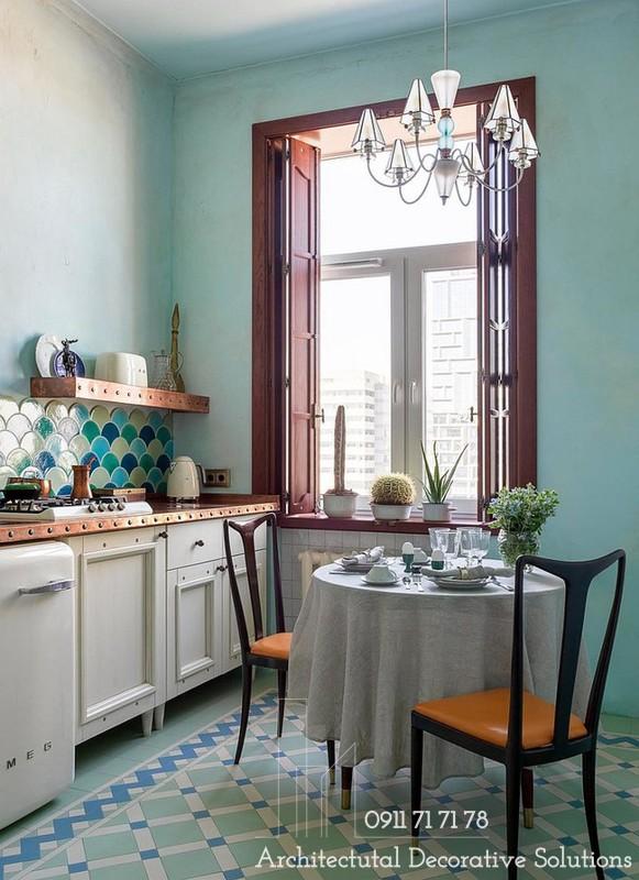 Cải Tạo Nhà Bếp Đẹp Theo Phong Cách Chiết Trung