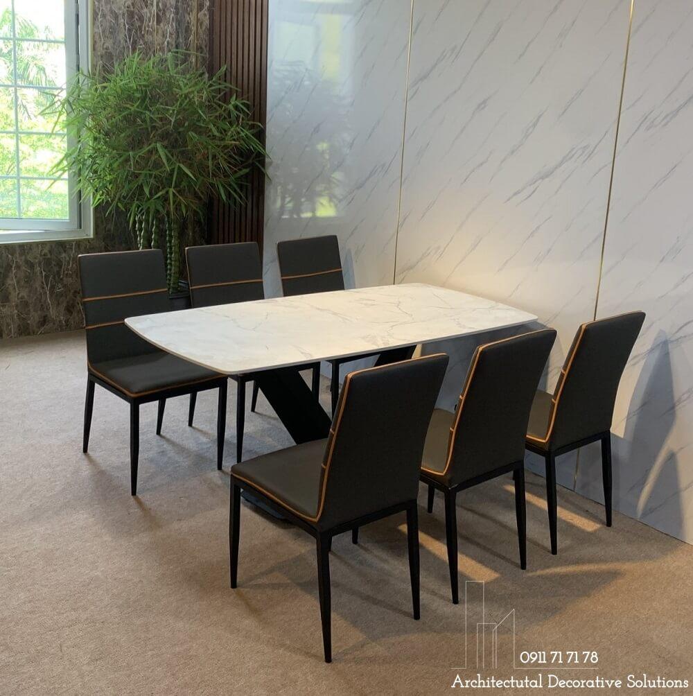 bộ bàn ăn 6 ghế giá rẻ