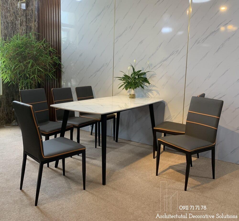 bàn ăn 6 ghế, nội thất phòng ăn
