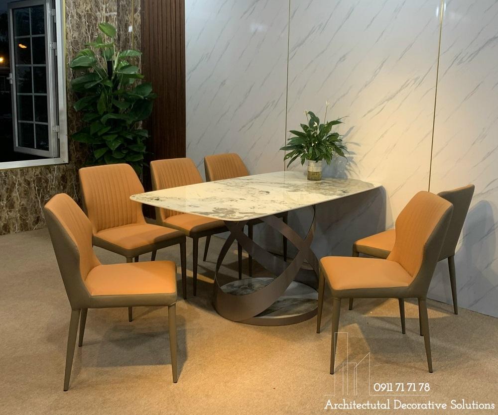bộ bàn ăn 6 ghế cao cấp