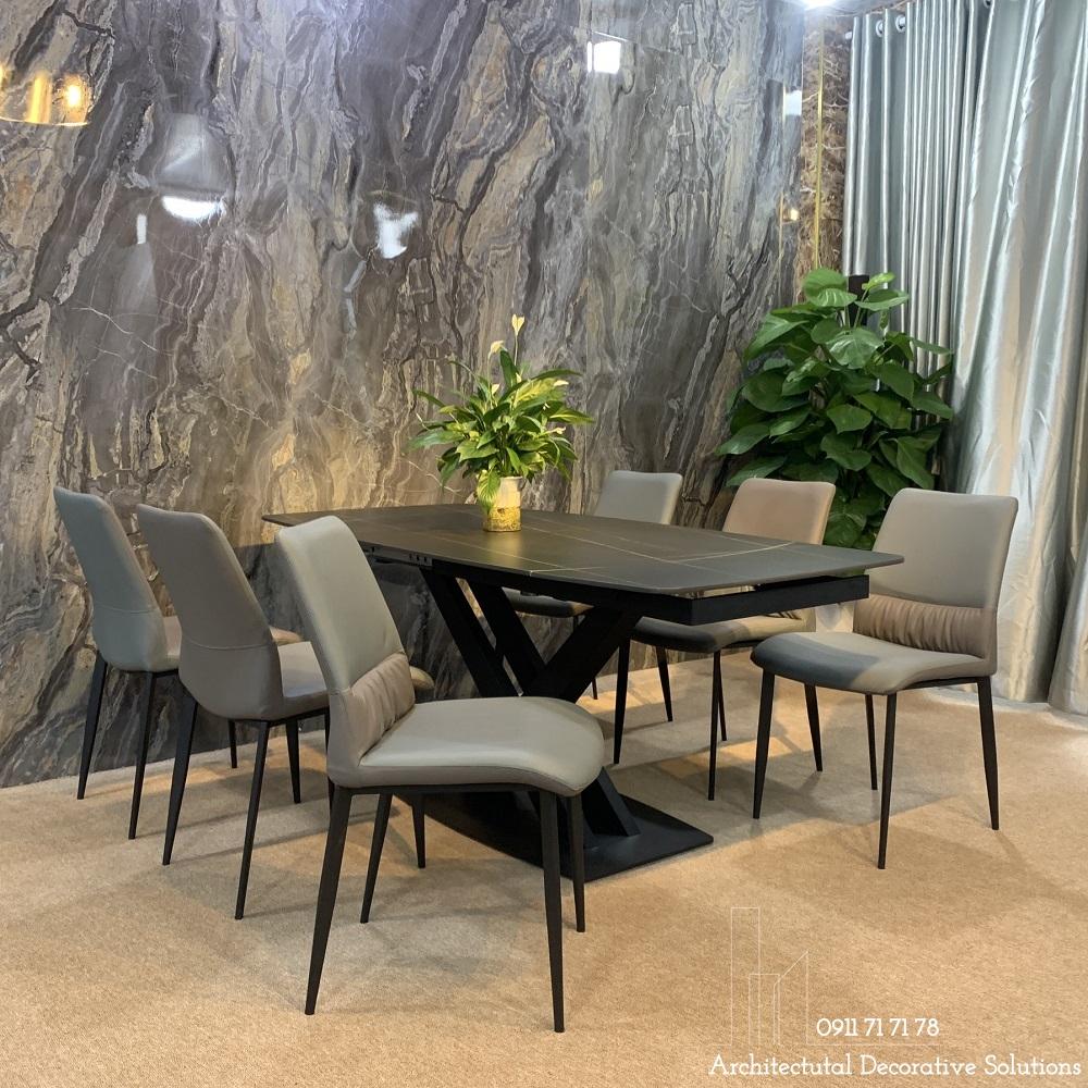 bàn ăn cao cấp, bàn ăn thông minh 6 ghế