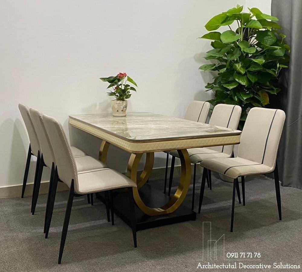bàn ăn, bàn ghế ăn, bàn ăn mặt đá 6 ghế